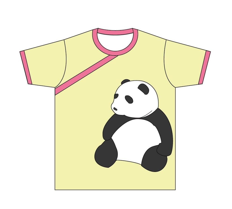 塙姉妹のTシャツ(かおるの「パンダ」)